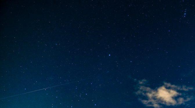 2018年10月19-23日 オリオン座流星群の撮影