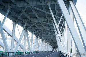 旭橋 1/40秒 F8 ISO800