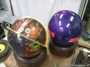 今使用しているボールのローリングトラック等の確認